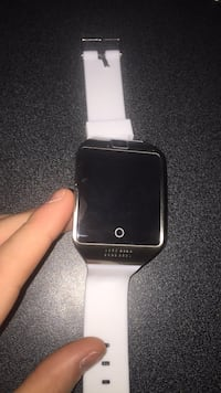 Black and silver smart watch Spruce Grove, T7X 1E4