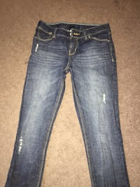 Blue washed Levi jeans Brampton