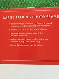Talking Photo Frame Norman, 73071