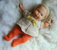 Original 1960s THUMBELINA Ideal Newborn Blonde Baby DOLL with Clothes  Toronto, M5T 2X9