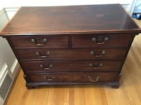 George III Style Mahogany 3-Drawer Chest c. 1850 Chevy Chase Village, 20815