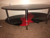 Red/Black Coffee Table Los Angeles, 91324