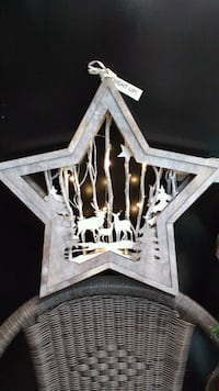 Star Wood light box- year round decor