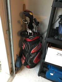 Red and black golf bag Katy, 77494
