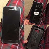 Black samsung galaxy smartphone with black case Bakersfield, 93307