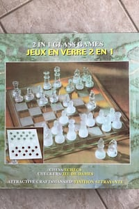 Stunning 2 in 1 Chess and Checkers Set Toronto, M9M 1G3