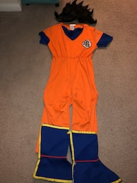 Dragon Ball Z Goku Costume child's extra large Springfield