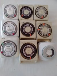 INTERMATIC PLUG-IN TIMERS (9) - BEST OFFER Sterling