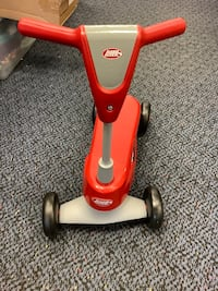 New Red Radio Flyer Scoot 2 Scooter
