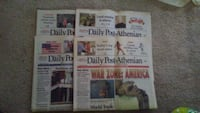 Daily post-athenian newspapers on 9-11 Maryville, 37801