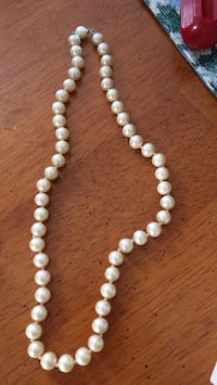 white and brown beaded necklace Haverhill, 01832