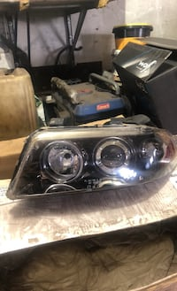 Audi headlight left and right