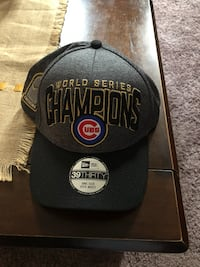 CHICAGO CUBS WORLD SERIES HAT NEW  Addison, 60101