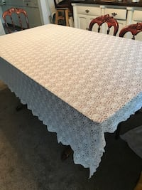 Lace off white tablecloth Mountain View, 94041