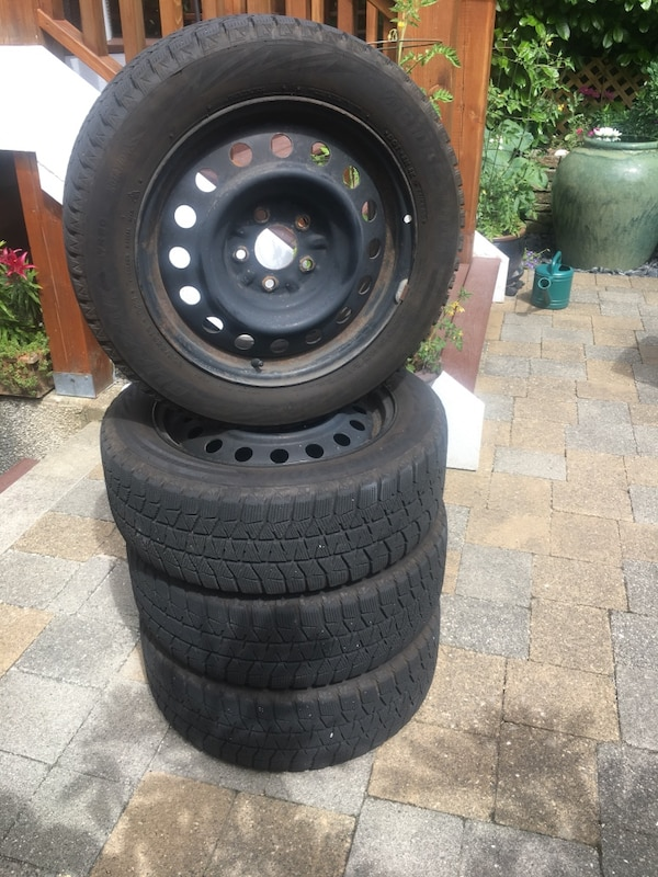 Winter Tires Vancouver >> Used Blizzak Ws80 Winter Tires On Rims For Sale In Vancouver Letgo