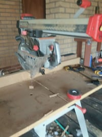 red and gray miter saw Denver, 80221