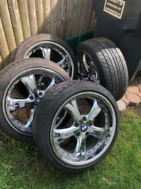 Bmw wheels with tires Bergenfield, 07621