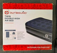 Twin Double-High Flocked Air Bed, Brand New in Box Toronto, M8Y 4G7