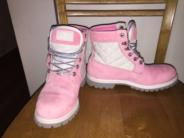 d686b11ecd Used Pink Timberland Boots for sale in Axton - letgo