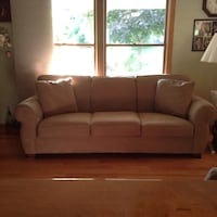 Brown fabric 3-seat sofa Westfield, 01085