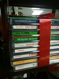 Assorted Christmas CDs