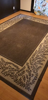 brown and white floral area rug Albuquerque, 87120