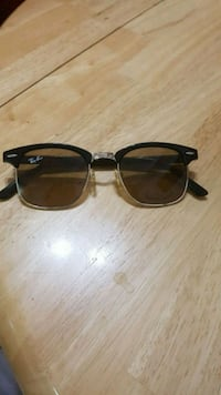 black framed Ray-Ban wayfarer sunglasses Edmonton, T6A