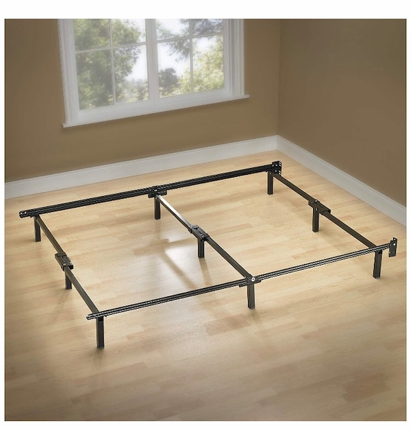QUEEN BED FRAME- NEW, IN BOX