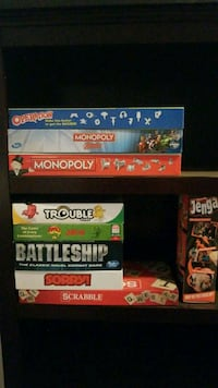 9 games no missing pieces.  Quantico, 22134
