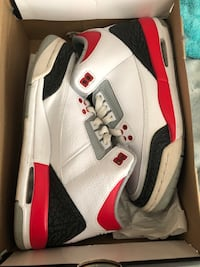 shoes air jordan 3 retro GS 6y 2396 mi