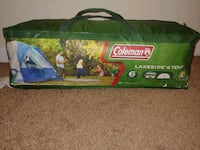 Coleman Lakeside 6 Person Tent w/ Rainfly Nicholasville, 40356