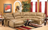Cindy Crawford Leather Sectional Edmonton, T5Y 0K9