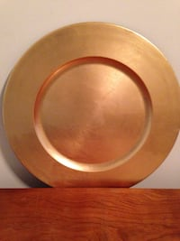 Charger plates -10 in all each $1.00
