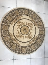 New Round Rug 3x3ft Richmond Hill