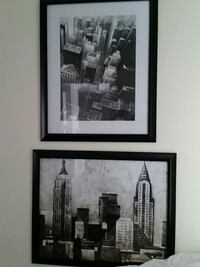 Black & White pictures of NY ($15 for set)  Rancho Cordova, 95670