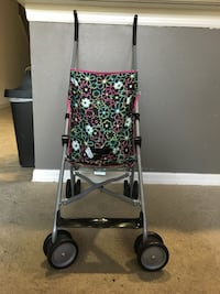 baby's gray black and green floral stroller Riverview, 33578