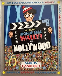 Donde Esta Wally? libro de Hollywood San Vicente del Raspeig, 03690