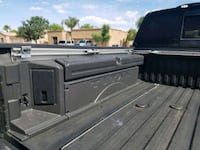 Titan truck bed side tool boxes.  Yuma, 85364