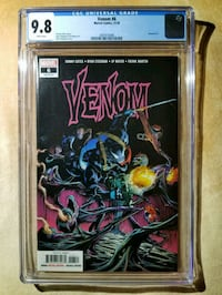 Venom 6 vol 4 (CGC 9.8) NM/MT  Upper Marlboro, 20774