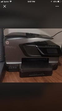 Hp 8600 office jet plus total office... scanner, printer, fax machine Arlington Heights