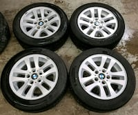 BMW rims and tires  Toronto, M6L 1A4