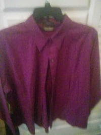 Purple shirt. Size large Columbus, 31904