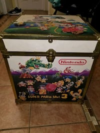 nintendo chest wooden