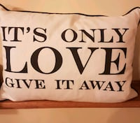it's only love pillow Whitby, L1N 8X2