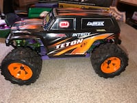 black and red RC monster truck Ballston Spa, 12020
