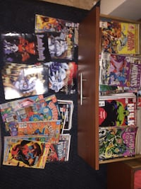 FOUND THESE IN A STORAGE UNIT MUST SALE THIS WEEK OVER 1,000+ COMIC BOOKS Hampton, 23666