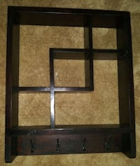 Wooden Floating Wall Mounted S
