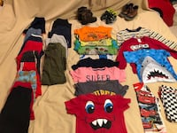 3T Boy Clothes with 3 pairs of Shoes size 10 Weslaco, 78599