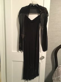 Jones New York cocktail dress/gown with shawl.