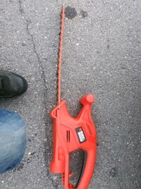 red and black Black & Decker hedge trimmer Williamsport, 17701